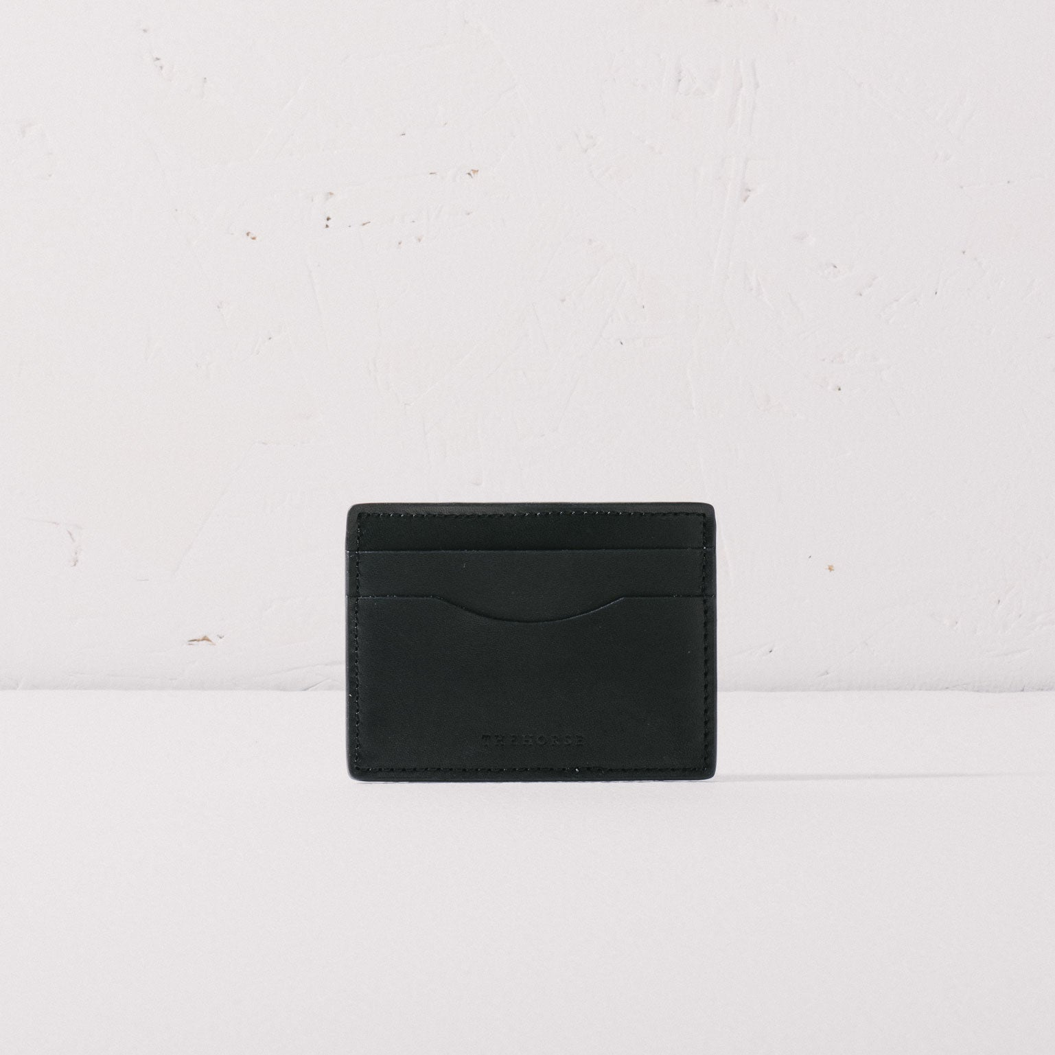 The Horse | Flatboy Card Holder | Black