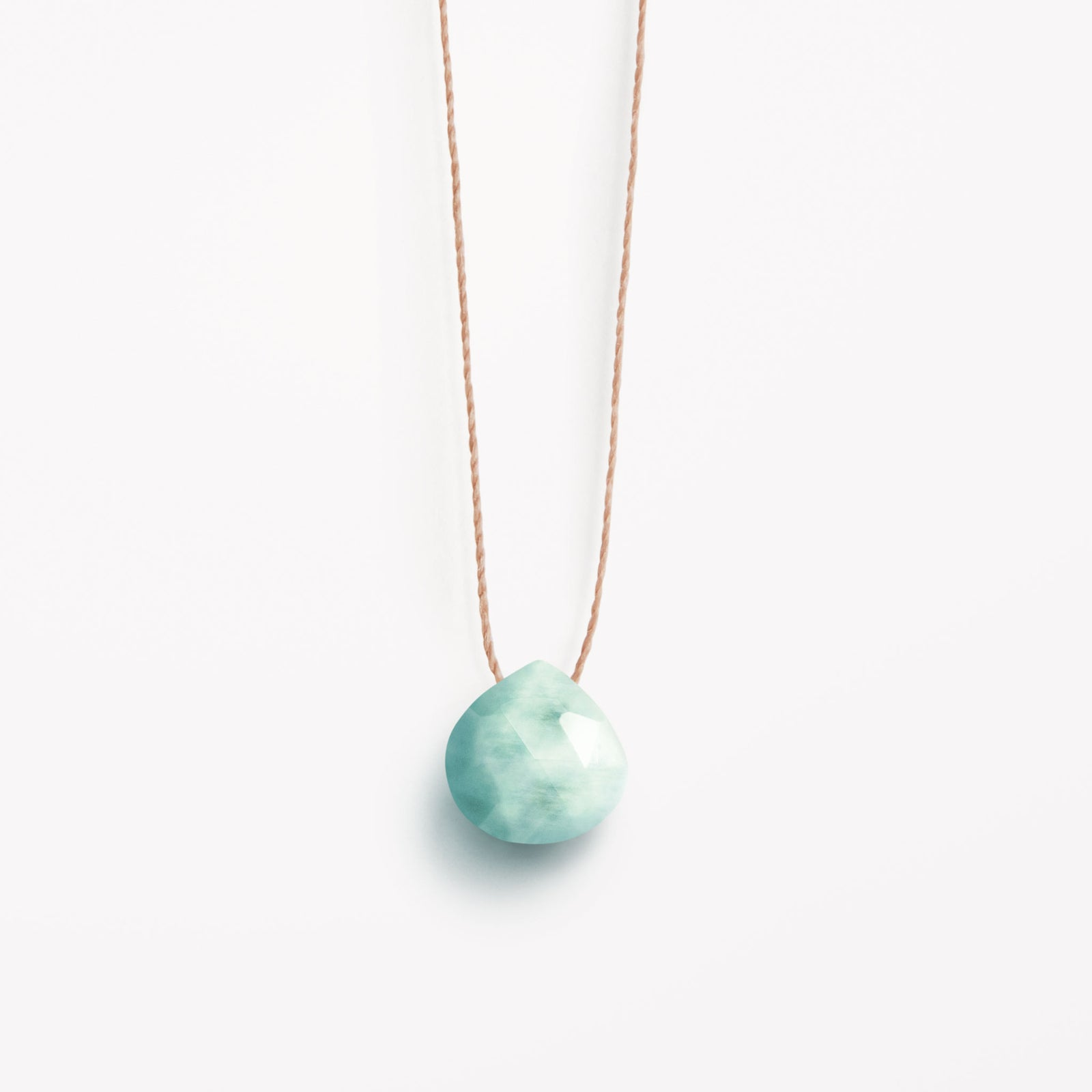 larimar fine cord necklace