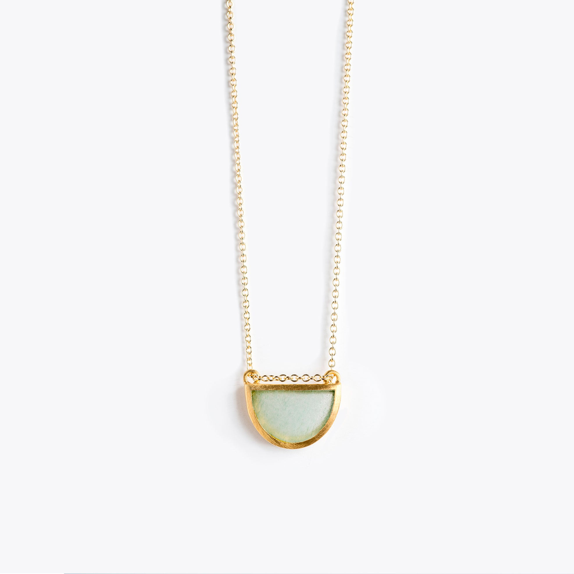 Wanderlust Life Ethically Handmade jewellery made in the UK. Minimalist gold and fine cord jewellery. sunburst fine gold chain necklace, amazonite