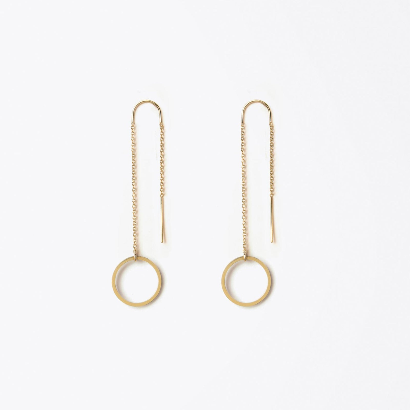waterfall earring | unity circle