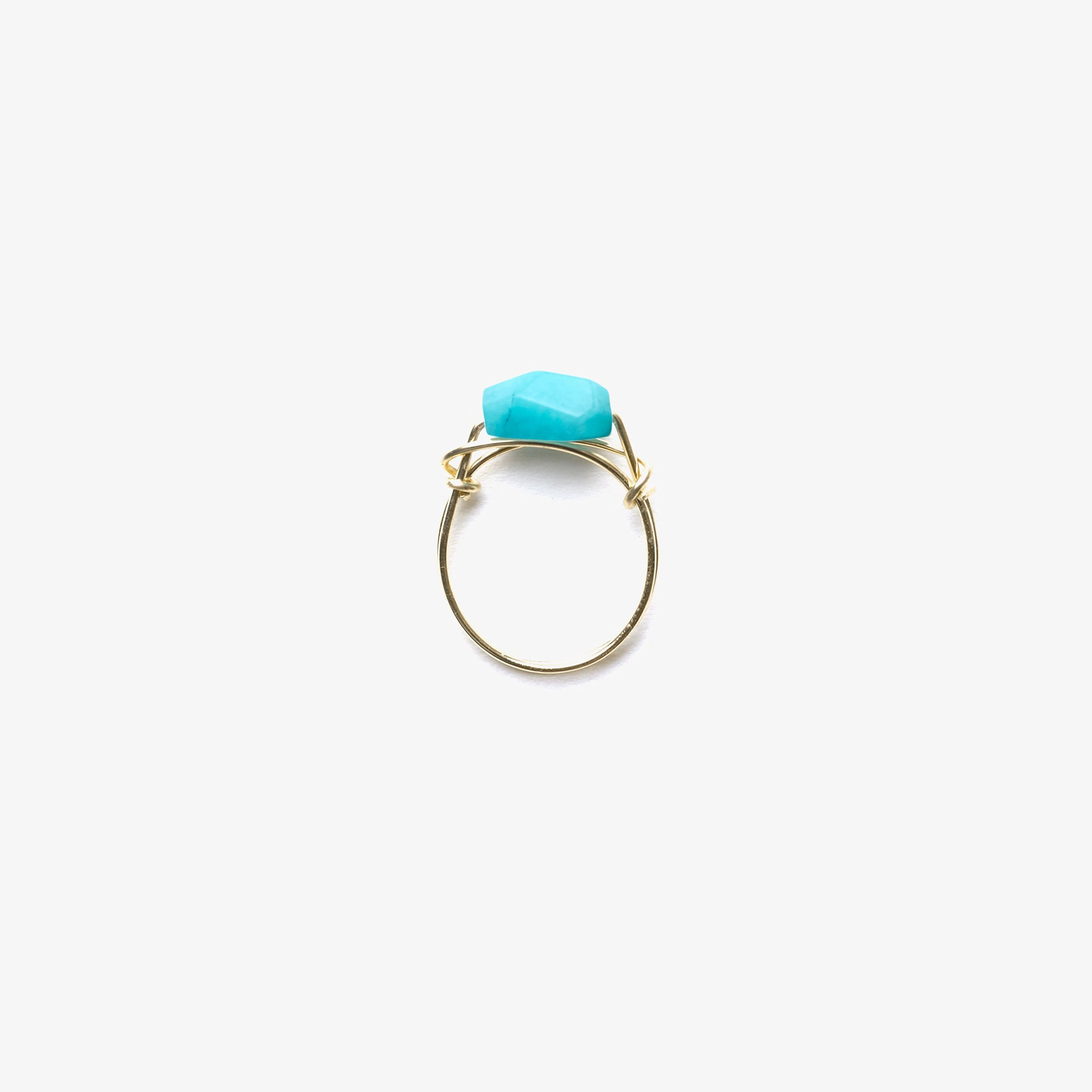 Wanderlust Life Ethically Handmade jewellery made in the UK. Minimalist gold and fine cord jewellery. handsculpted ring, amazonite