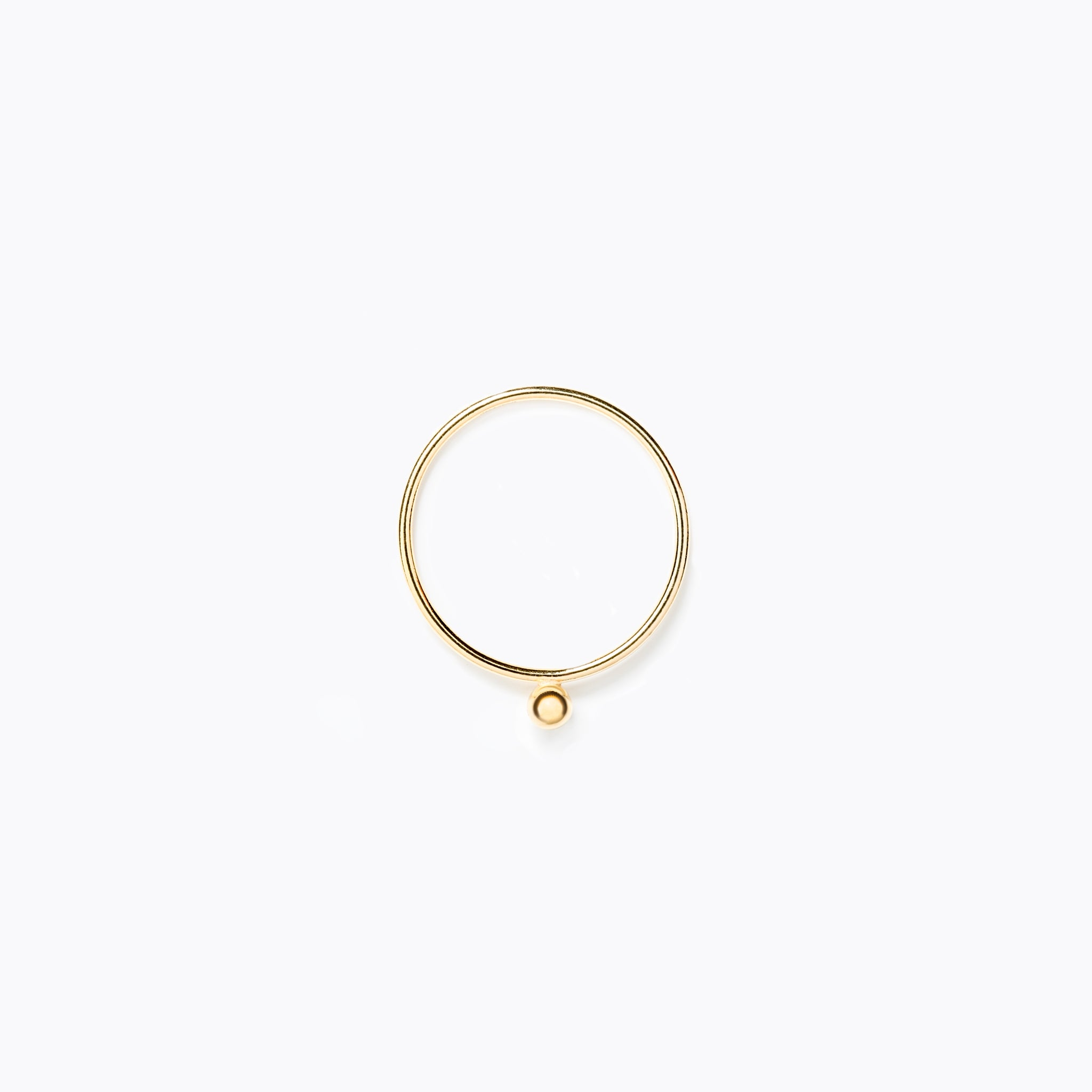 Wanderlust Life Ethically Handmade jewellery made in the UK. Minimalist gold and fine cord jewellery. zenith, fine gold ring