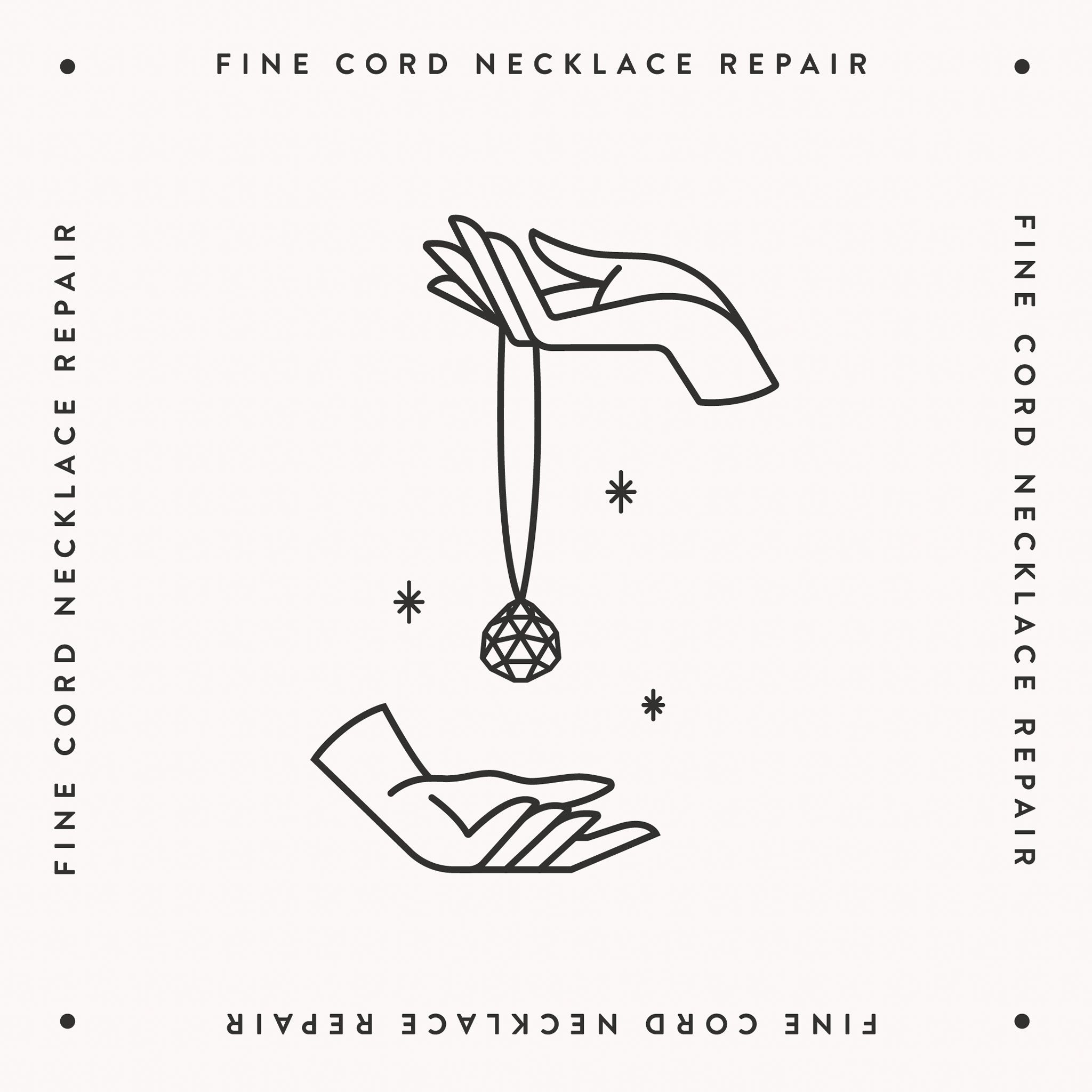 Fine Cord Necklace | Refurb