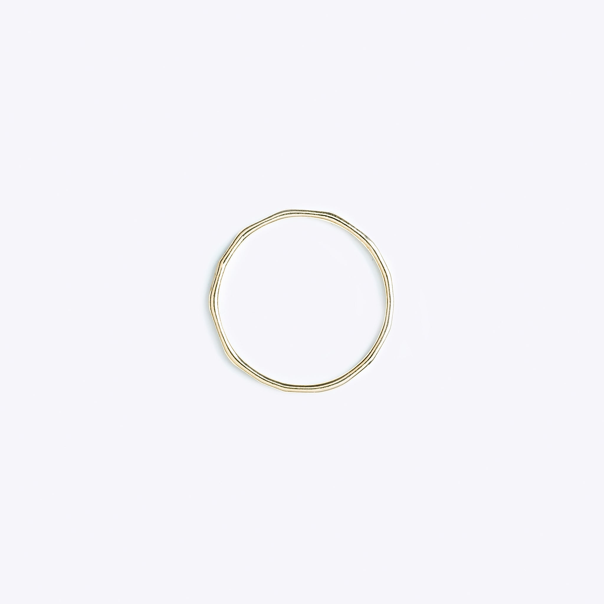Wanderlust Life fine hammered gold ring, available in various sizes. Hand finished gold rings in our UK studio.