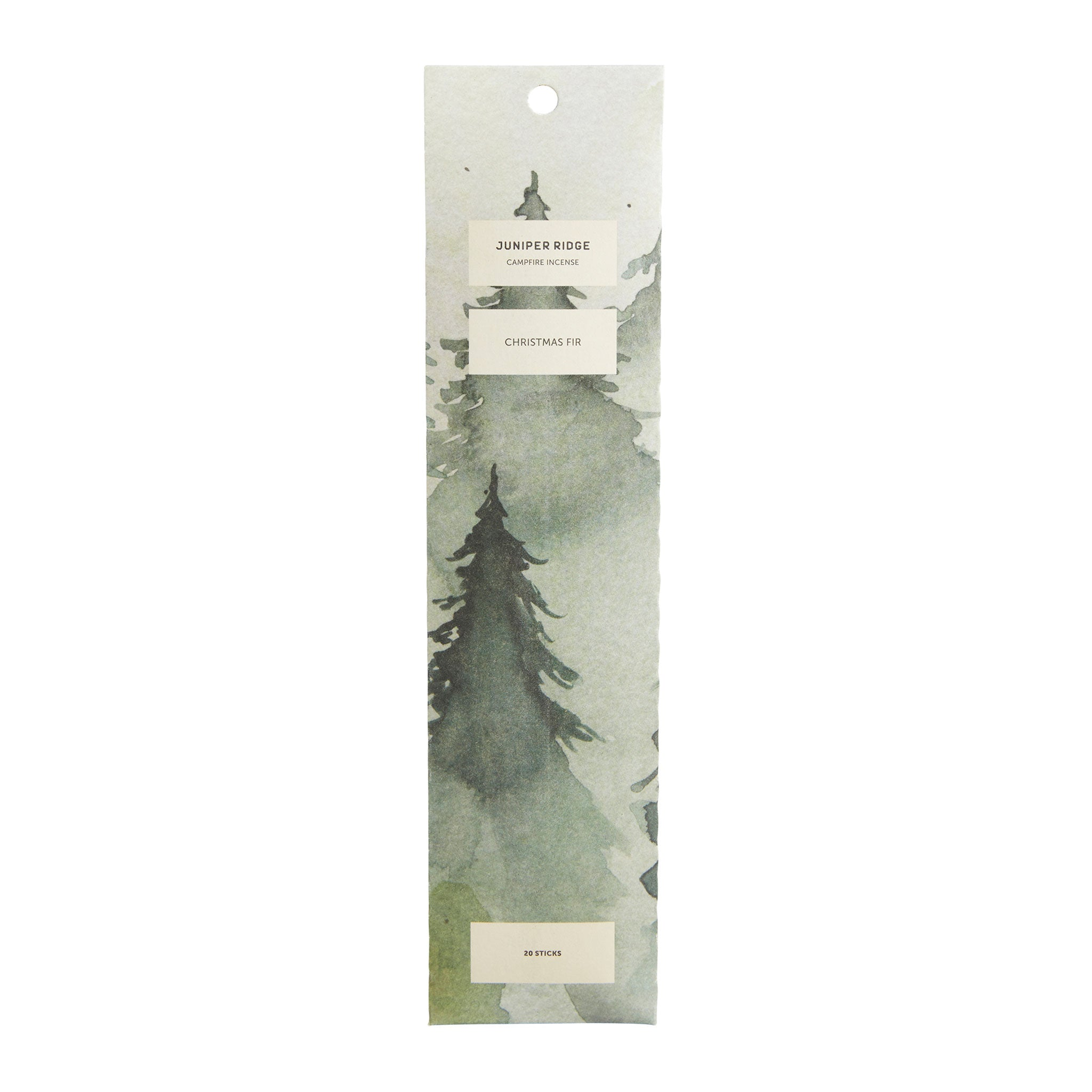 Wanderlust Life featuring sustainably sourced skincare and homeware brand Juniper Ridge. 20 Incense sticks made with pure plant resin, bamboo sticks and no artificial ingredients. The perfect gift for Christmas.