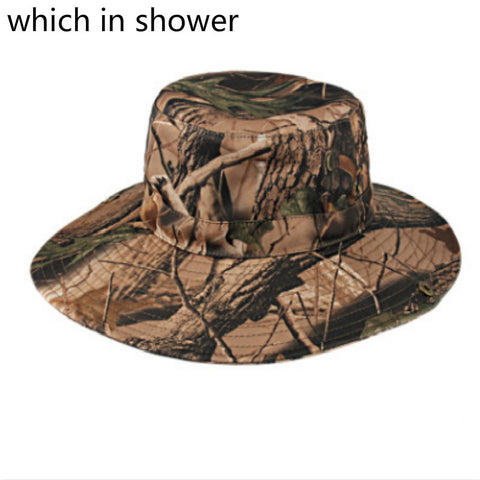 31c70b7d4551e Round Wide Brim Camo Fishing Hat Camouflage
