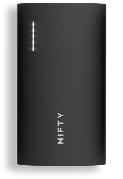 NIFTY Mobile Charger - Limited Edition Black