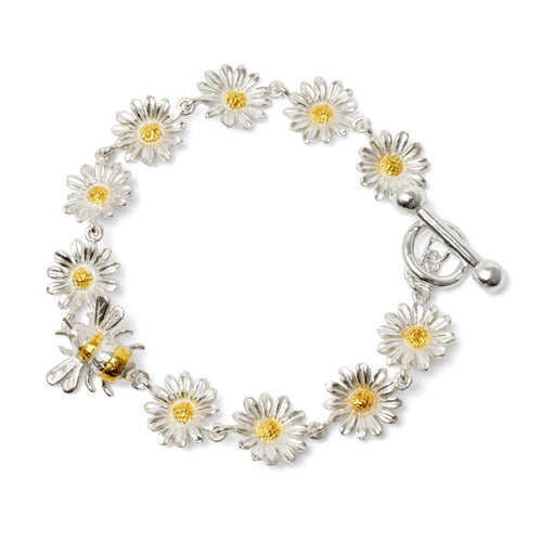 Bee and Daisy Bracelet