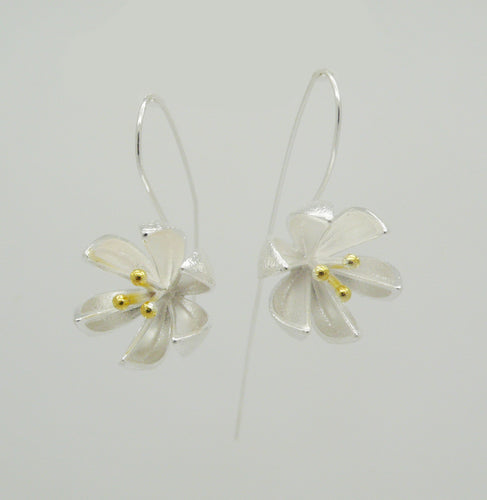 Water Lilly Earrings