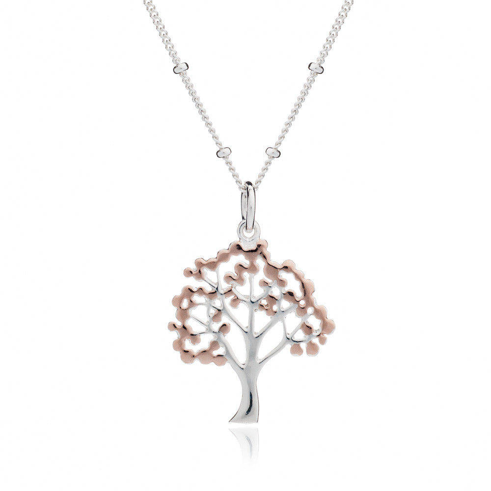 pk cz tree bling silver sterling pendant necklace jewelry palmtree palm