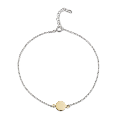 Yellow Gold Dot Bracelet