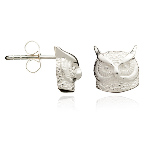 Long-eared Owl Stud Earrings