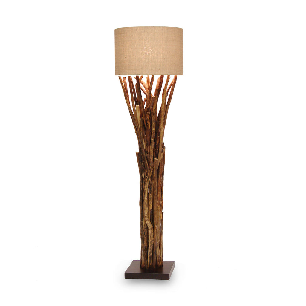 Natural Branch Floor Lamp