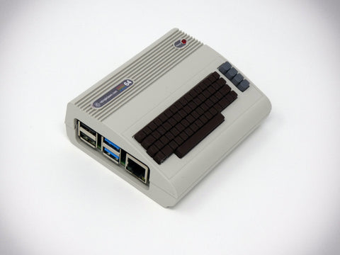 Commodore 64 Raspberry Pi Case (with working power LED) - C64