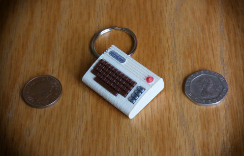 Miniature Commodore 64 model / keyring