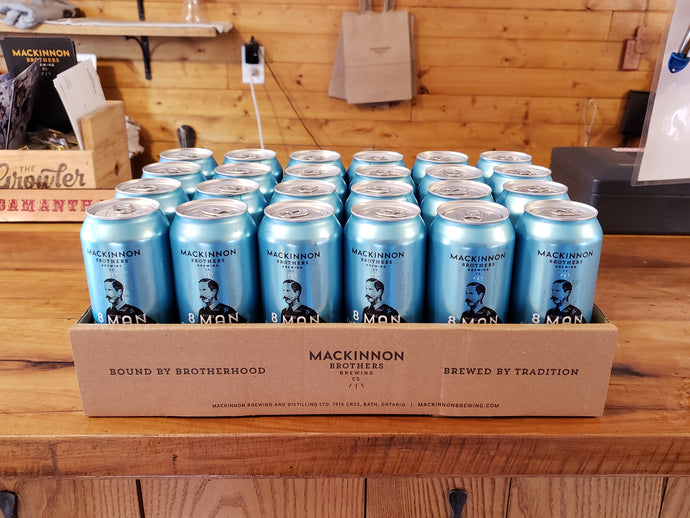 8 Man English Pale Ale - 24 Cans
