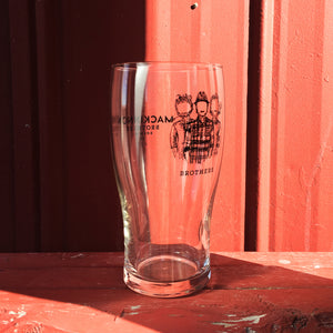 Red House Pint Glass