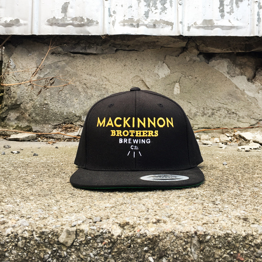 MacKinnon Brewing Flat Brim Hat