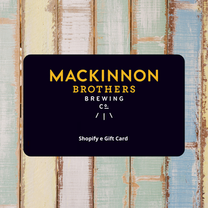 MacKinnon Brothers e Gift Card