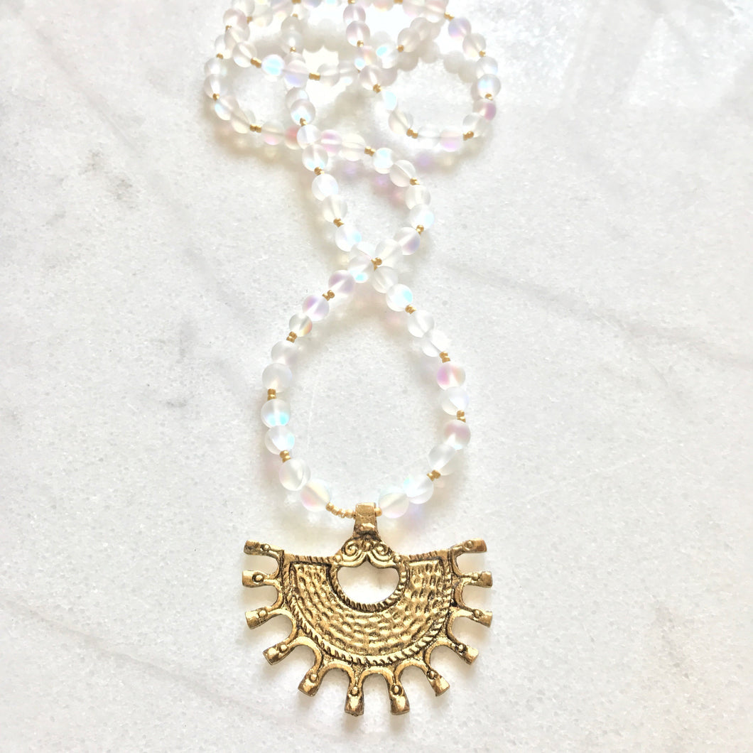 Moonstone Neely Necklace