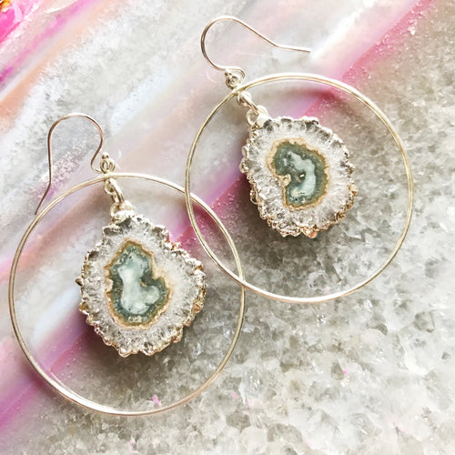 Stalactite Hoop Earrings