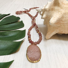 Stratton Druzy Necklace