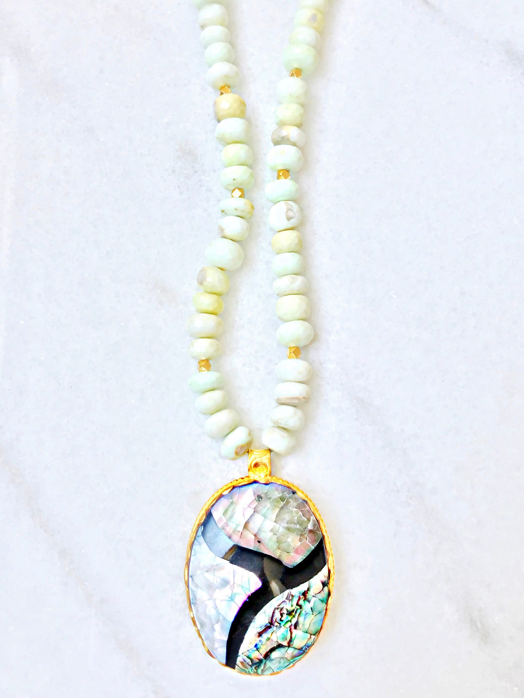 The Hamptons Abalone Necklace