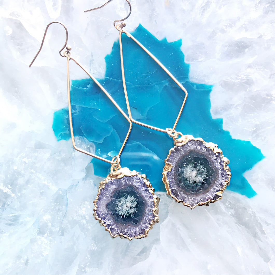 Stalactite Drop Earrings