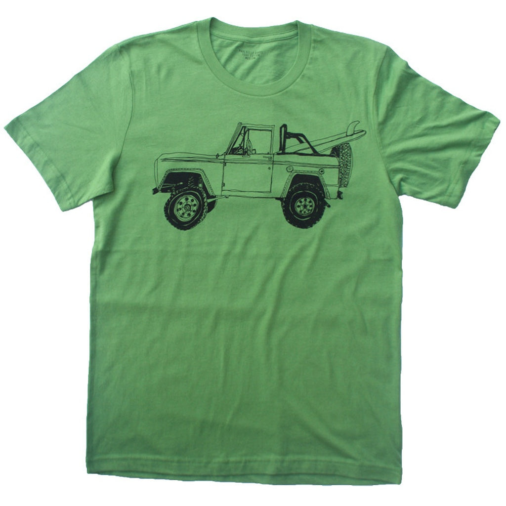 Bronco Surf Trip Leaf Green - 4D's T&D Inc