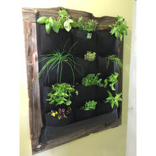 12 Pocket Indoor Waterproof Vertical Living Wall Planter - 4D's T&D Inc