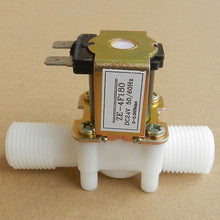 "Electric Solenoid Valve 1/2"" NC 12Vdc Magnetic Plastic Water Valve Air Control Switch Normally Close - 4D's T&D Inc"