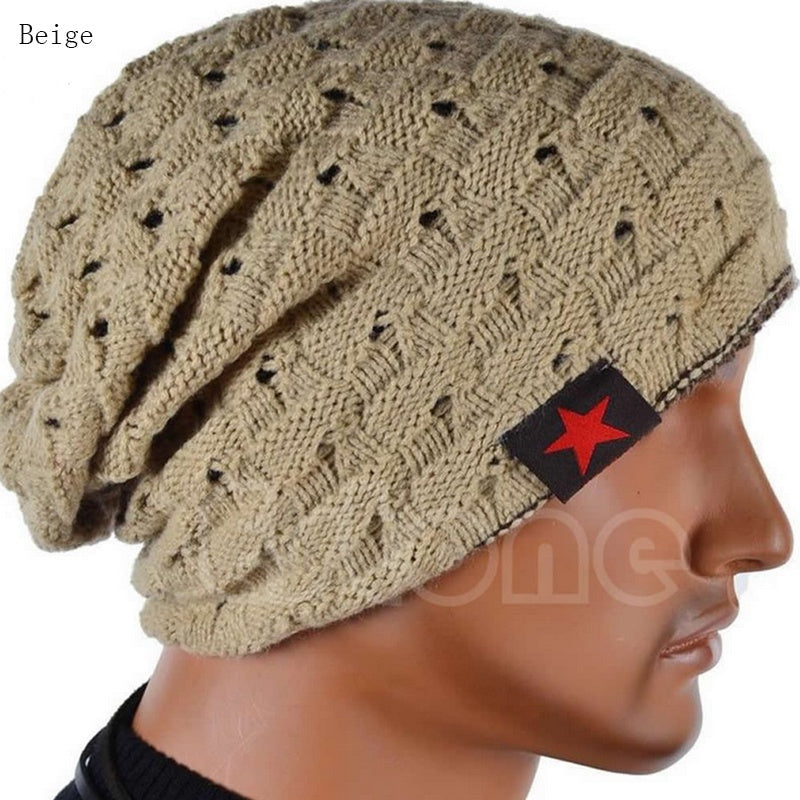Deal Breaker  Women Men Warm Winter Unisex Headwear Skull Knitted Hat Baggy Beanie Hip-hop Cap 4DS-203UWBHX3 - DEAL PRICE:  3 for $10.00 - 4D's T&D Inc