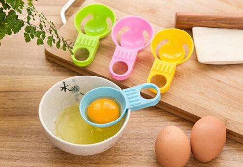 New Practical Kitchen Tool Egg Tools/Candy Color Egg Dividers/Mini Plastic Egg White Separator #yuanmei# - 4D's T&D Inc