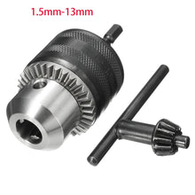 "0.6-6mm 1.5-13mm Hex Shank Driver Chuck Drill Bit Converter Plug Quick Change Clamp 3/8inch 24UNF with 1/4"" SDS Adapter Converter - 4Ds T&D Inc."