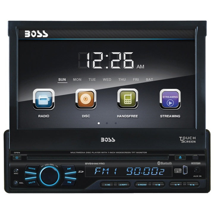 Boss audio bvb9967rc boss single din 7 flip out receiver dvdcd boss audio bvb9967rc boss single din 7 flip out receiver dvdcd blueto 4ds td inc publicscrutiny Images