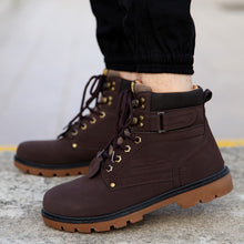 Boots 2017 Fashion Men Casual Winter Martin Boots Footwear men Shoes - 4DS-164MWB - 4D's T&D Inc