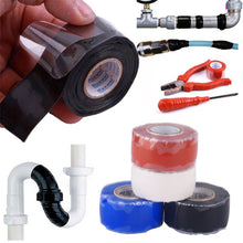 1 Pcs Ea 25mm x 3m Self Fusing Waterproof  Silicone Performance Repair Tape Bonding Rescue Wire Hose Tape - 4D's T&D Inc