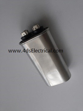 Motor Run Capacitor 10 uf (mfd), 440 Vac. - Part # 4DS10-440CS2. - $8.98