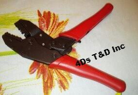 4Ds T&D Inc. www.4dselectrical.com Ratchet crimping tool.