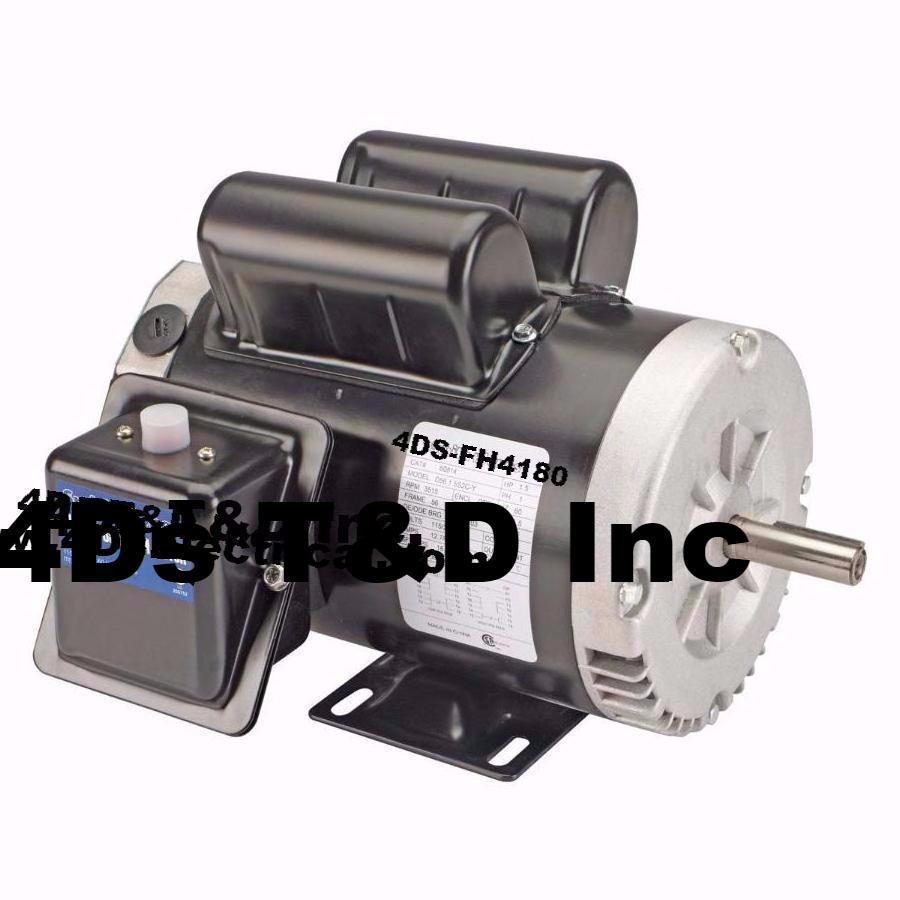 Versatile 1-1/2 HP Forward/Reverse Motor.  Part # 4DS-FH4180. - $279.89