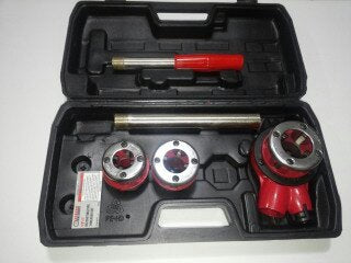 Pipe Dye Plumber Ratcheting Pipe threader/ cutting dye Tool Set Item # 4DS-PTS066 https://4ds-t-d-inc.myshopify.com