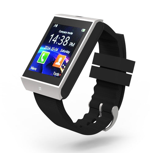 Smartwatch Smartphones - Bluetooth Smart Watch - Wrist Watch Clock - Sync Notifier - Support SMI TF for iphone Android Samsung S5 / S6 - Note 2 / Note 3 4DS-136BSW https://4ds-t-d-inc.myshopify.com