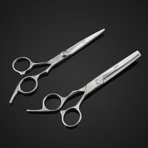 6 Inches professional hairdressing scissors set Beauty salon shears for cutting thinning hair Barbershop styling tools - 4D's T&D Inc