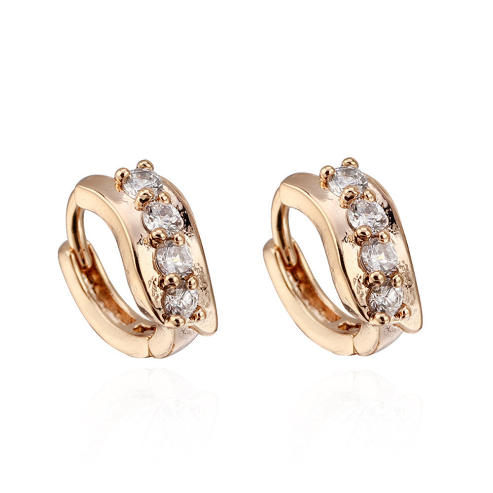 One Pair Girls Women Rhinestone Earrings Ear Hook Stud Jewelry 1 https://4ds-t-d-inc.myshopify.com