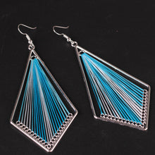 1 Pair Women Fashion Alloy Stud Dangle Earrings Eardrop Jewelry New - 4D's T&D Inc