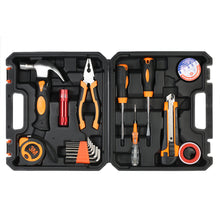 https://4ds-t-d-inc.myshopify.com/Multi-Purpose Versatile 18 pcs Hand Tools Set - For Household Appliances - Electrical Maintenance Repair - Tool wrench + screwdriver + knife + Hammer with tool box.  Item # 4DS-57MTK