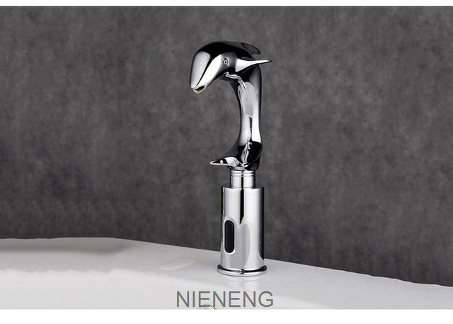 Attirant NIENENG Sensor Automatic Faucet Bathroom Sink Cold Water   Restaurant U2013  4Du0027s Tu0026D Inc