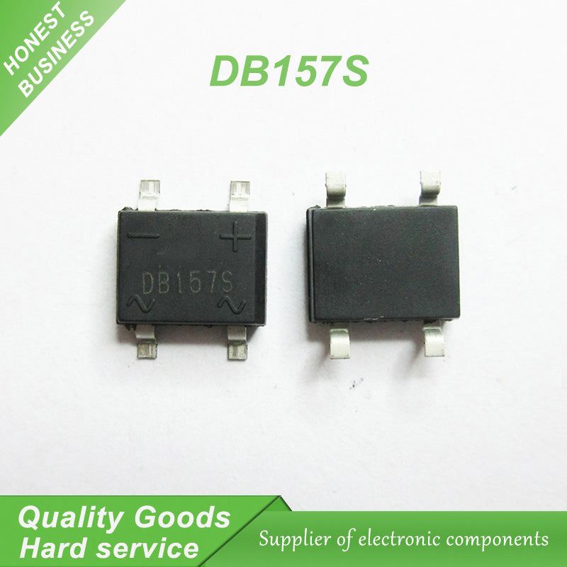 10 pcs DB157S DB157S SOP Bridge Rectifiers 700V 1.5A new original - 4D's T&D Inc