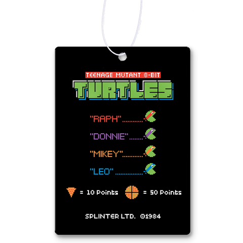 8-Bit Turtles Air Freshener