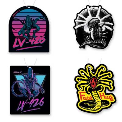 Alien Air Freshener 4 Pack